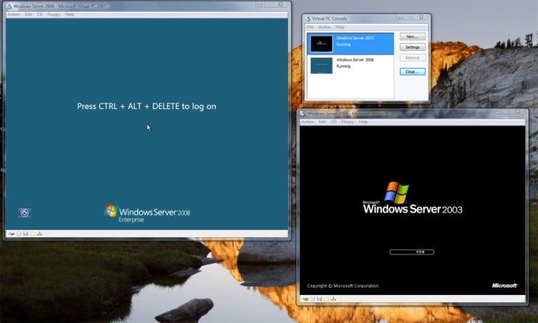 Microsoft's Virtual PC 2007