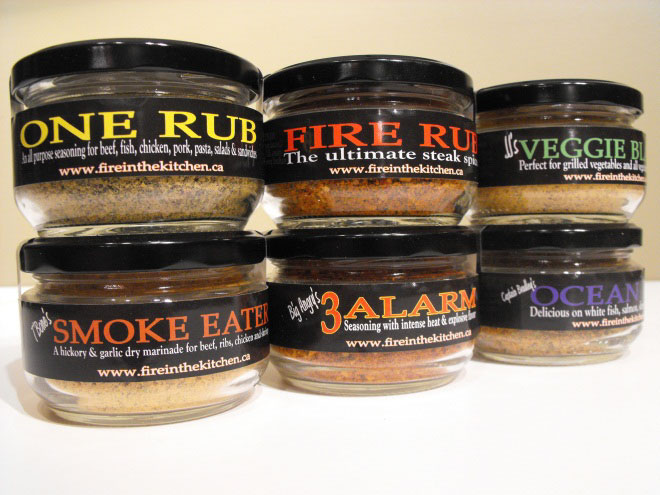 How Dare you BBQ Without Fire in the Kitchen Spice Co | Christmas 6-Pack
