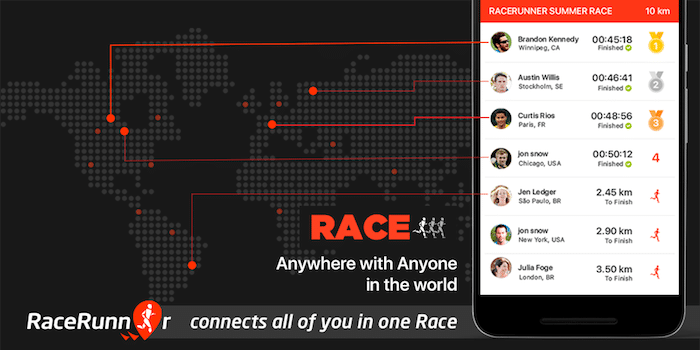 Review: RaceRunner (Running App)