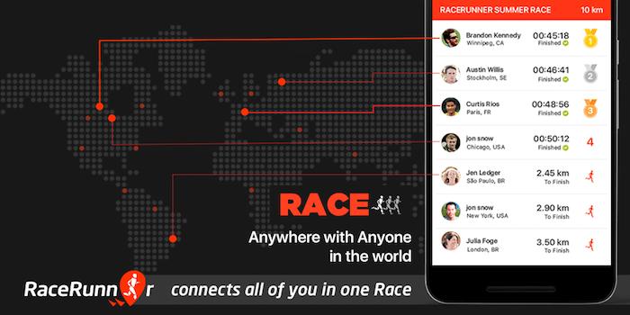 Review: RaceRunner (Running App)